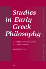 Cover Brill's Companion to the Reception of Plato in Antiquity