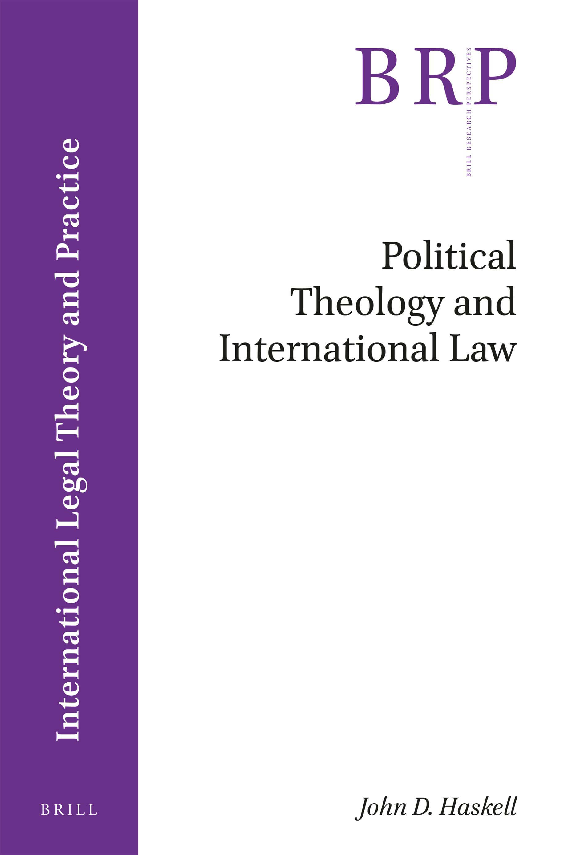 Political Theology And International Law In Political