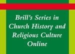 Cover Brill's Series in Church History and Religious Culture Online