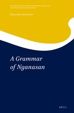 Cover A Grammar of Nganasan