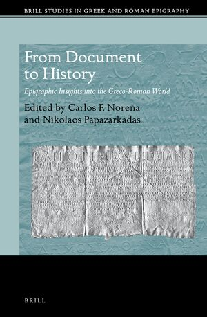 Cover From Document to History