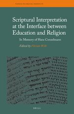 Cover Scriptural Interpretation at the Interface between Education and Religion