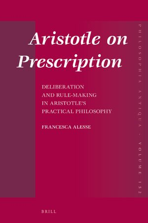 Cover Aristotle on Prescription