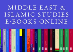 Cover Middle East and Islamic Studies E-Books Online, Collection 2019