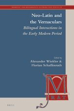 Neo-Latin and the Vernaculars