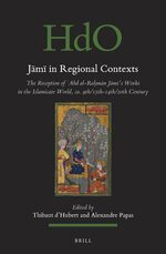 Cover Jāmī in Regional Contexts