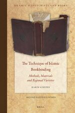 Cover The Technique of Islamic Bookbinding