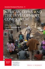 Cover African Cities and the Development Conundrum