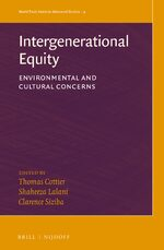 Cover Intergenerational Equity