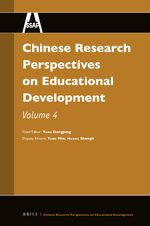 Chinese Research Perspectives on Educational Development, Volume 4