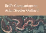 Cover Brill's Companions to Asian Studies Online I