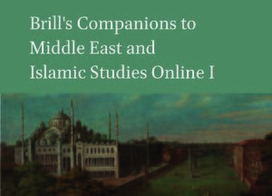 Cover Brill's Companions to Middle East and Islamic Studies Online I