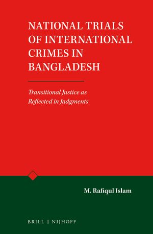 Cover National Trials of International Crimes in Bangladesh