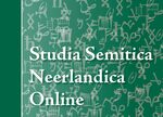 Cover Studia Semitica Neerlandica Online, Supplement 2019/2020