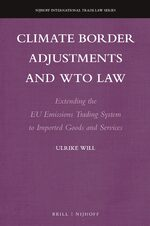 Cover Climate Border Adjustments and WTO Law