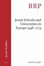 Jesuit Schools and Universities in Europe 1548–1773