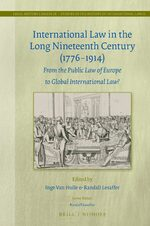 Cover International Law in the Long Nineteenth Century (1776-1914)