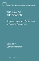 Cover The Law of the Seabed
