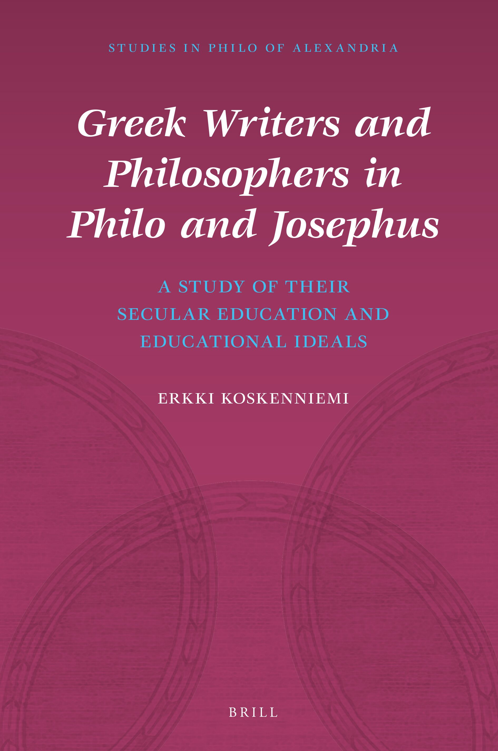 Philo fspring from Sarah and Hagar in Greek Writers and