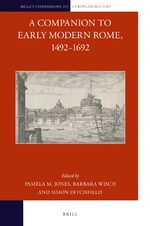 Cover A Companion to Early Modern Rome, 1492-1692