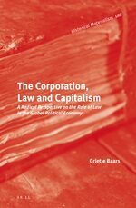 Cover The Corporation, Law and Capitalism