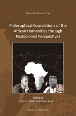 Cover Philosophical Foundations of the African Humanities through Postcolonial Perspectives