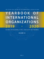 Cover Yearbook of International Organizations 2019-2020, Volumes 1A & 1B (SET)