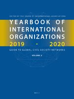 Cover Yearbook of International Organizations 2019-2020, Volume 3