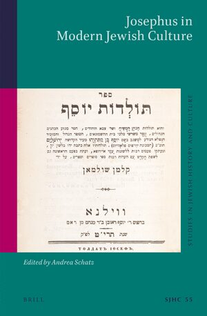 Cover Josephus in Modern Jewish Culture