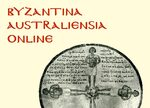 Cover Byzantina Australiensia Online, Supplement 2018