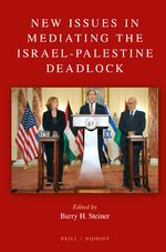 Cover New Issues in Mediating the Israel-Palestine Deadlock