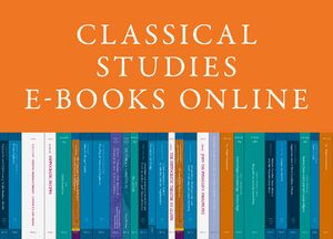 Cover Classical Studies E-Books Online, Collection 2020