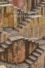 Cover Lectures on Polish Value Theory