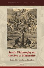 Cover Jesuit Philosophy on the Eve of Modernity