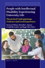 Cover People with Intellectual Disability Experiencing University Life