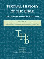 Cover Textual History of the Bible Vol. 2C