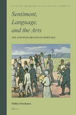 Cover Sentiment, Language, and the Arts: The Japanese- Brazilian Heritage