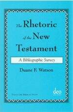 Cover The Rhetoric of the New Testament