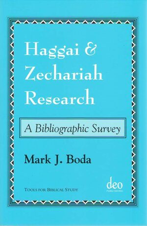 Cover Haggai and Zechariah Research