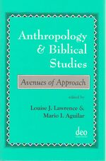 Cover Anthropology and Biblical Studies