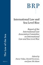 Cover International Law and Sea Level Rise