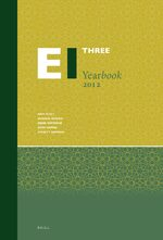 Cover Encyclopaedia of Islam Three Yearbook 2012