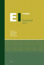 Cover Encyclopaedia of Islam Three Yearbook 2013