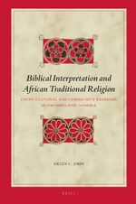 Cover Biblical Interpretation and African Traditional Religion