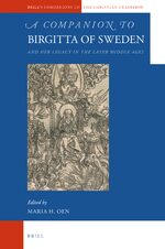 Cover A Companion to Birgitta of Sweden