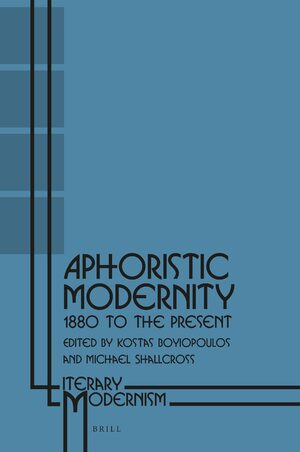 Cover Aphoristic Modernity