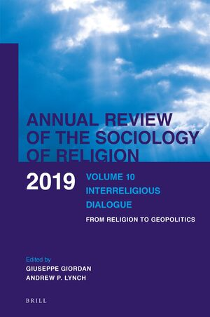 Cover Volume 10: Interreligious Dialogue
