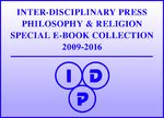 Cover Inter-Disciplinary Press Philosophy & Religion Special E-Book Collection, 2009-2016