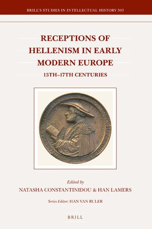 Cover Receptions of Hellenism in Early Modern Europe
