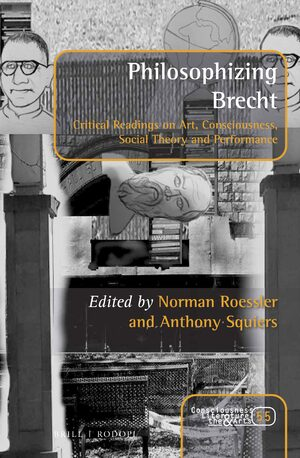Cover Philosophizing Brecht